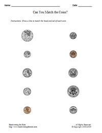 Printables Coin Worksheet basic handwriting for kids mathematics money math united sample of page